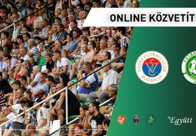 ONLINE: Vasas FC – FC Ajka